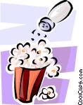 popcorn and salt